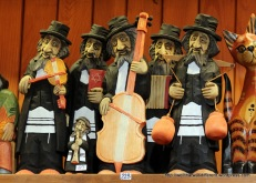 Krakow identifies strongly with it's Jewish heritage. Not sure how PC these figurines are, but they are everywhere.