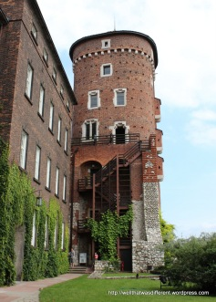 The castle tower--yes we climbed this