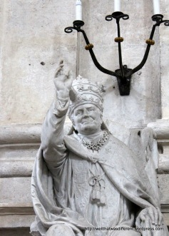 This is not John Paul, but apparently an earlier bishop who looked just like him