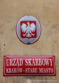 Street sign.