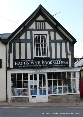 One of dozens of bookshops in Hay-on-Wye.