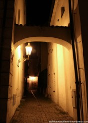 Hidden alleys.