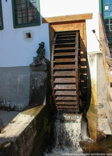The waterwheel at the mill.