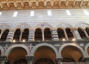 Inside the Duomo.