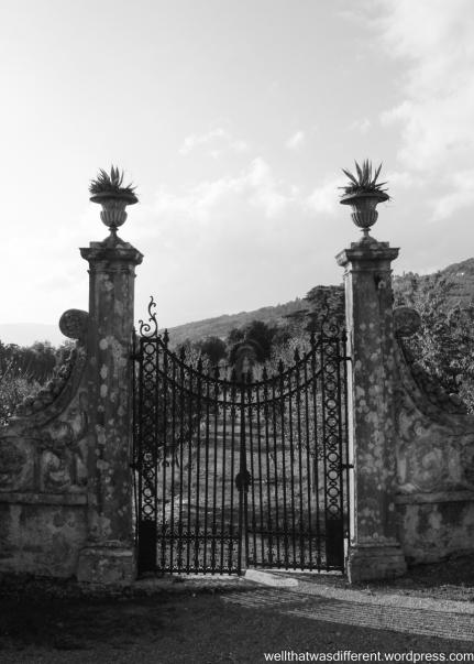 The Villa-gardens.