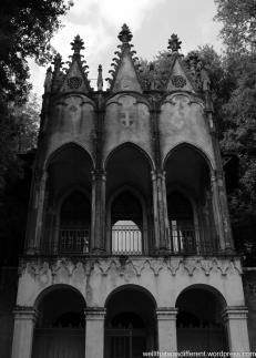 The Villa-19th century folly in the garden.
