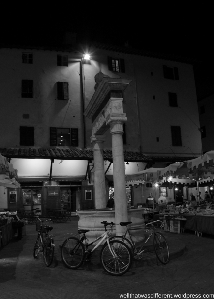 Pistoia by night.