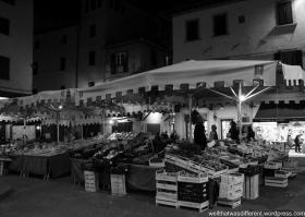 Pistoia by night.