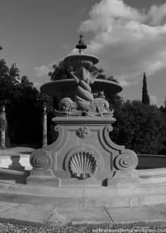 The Villa-fountain.