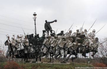 Memento Park. A lot going on here in this 1980s piece.
