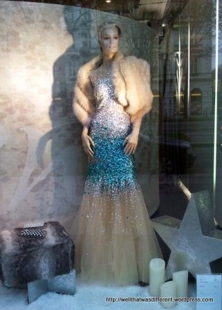Beautiful ball gown.