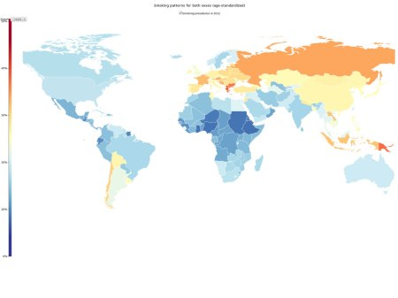 Image from the Institute for Health Metrics and Evaluation via NPR