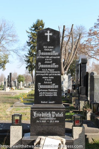19th century tombstone.