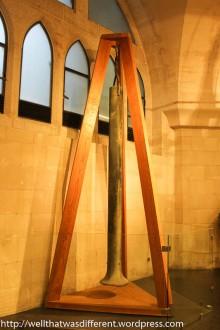 Even the church bells are a unique design.