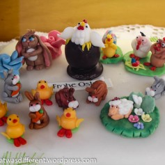 More marzipan critters.
