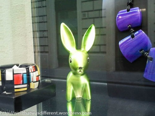 High-tech bunny.