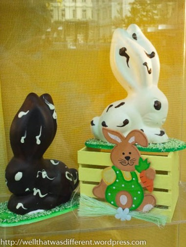 Marzipan bunnies.