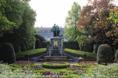 Petit Sablon gardens