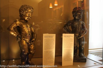 Bronze versions in the city museum
