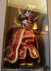 As a diablado from Bolivia