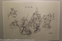 Sketches of Picts from Asterix
