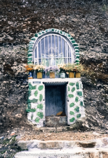 Roadside shrine.
