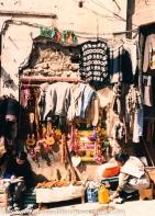 Typical street vendor in the Mercado.