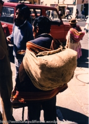 Beggar on the street. Most of these guys came from a specific tribe that devoted itself to begging, or at least that is what I was told