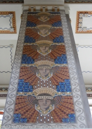 Egyptian motif.