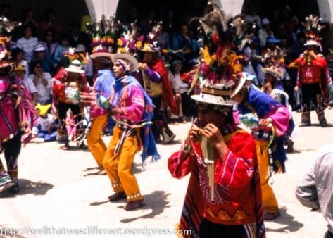 An Aymara (indigenous) group