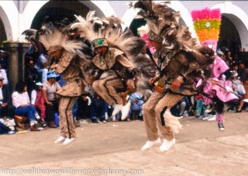 Indigenas showing their stuff