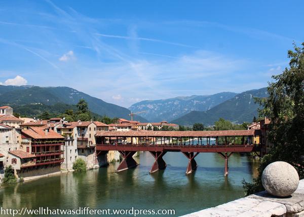 The Ponte degli Alpini.