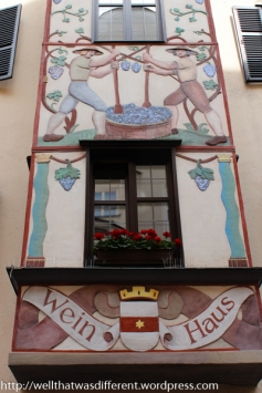 Lots of Tyrolean-style decoration.