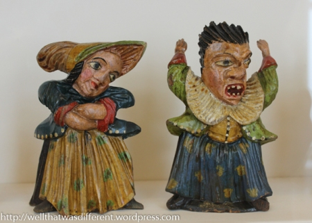 Punch and Judy I think.