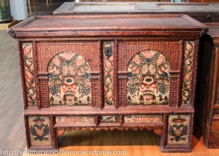 A beautiful storage chest.