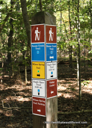 Dear Austrians, this is what proper trail signage looks like. I'm just saying.