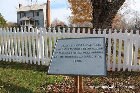 The Battle of Appomattox immediately preceded the surrender.