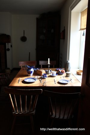 Just a nice photo of a period kitchen from the McLean house.