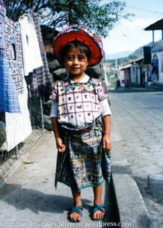 In Santiago Atitlan.