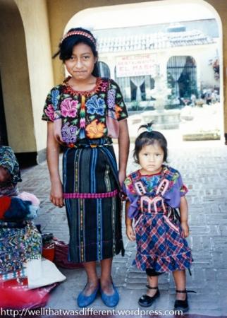 Mamacita and baby sister.