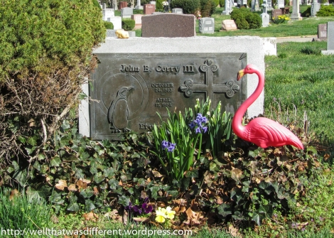 Dear family, please feel free to plant a plastic flamingo on my grave when I am gone. (Really!)