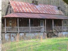 Bobbie Jo's homeplace looked something like this house (from Pinterest)