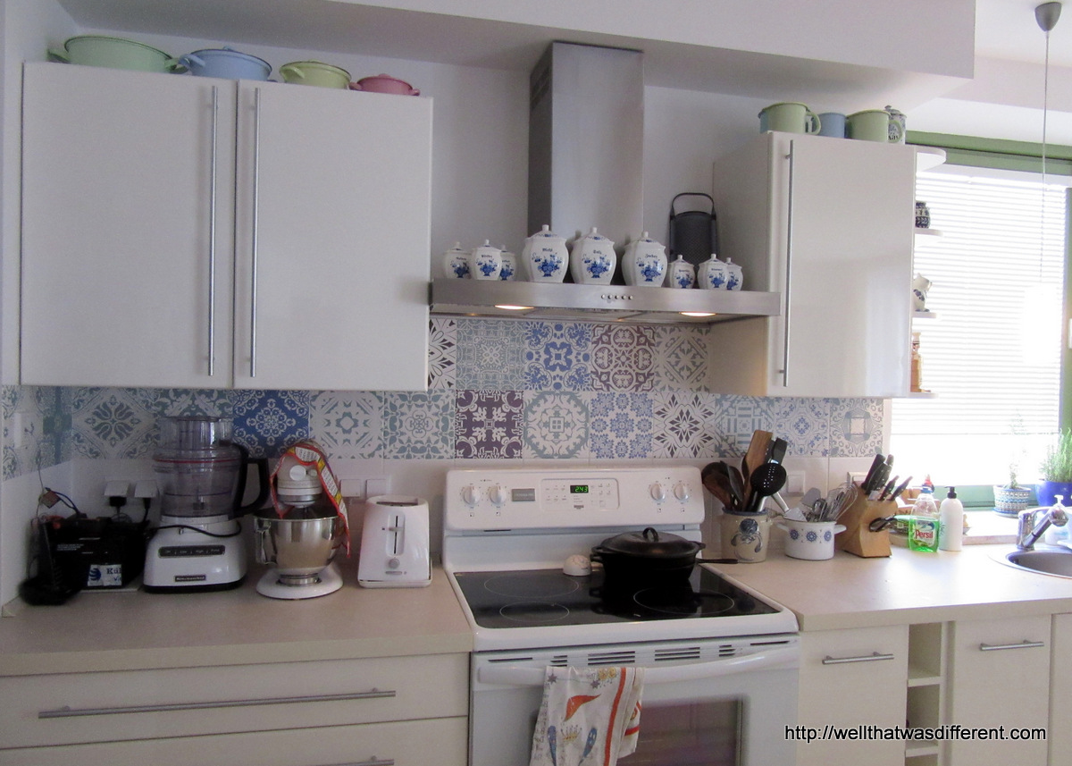 Embassy Housing Hack: Kitchen Decals – Well, That Was Different