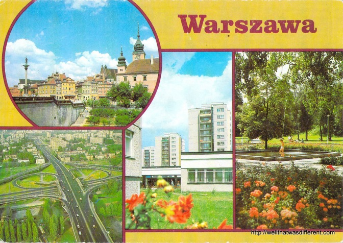 Postcards from Socialist Warsaw
