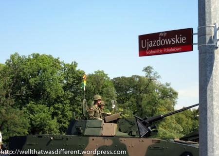 A Polish tank.