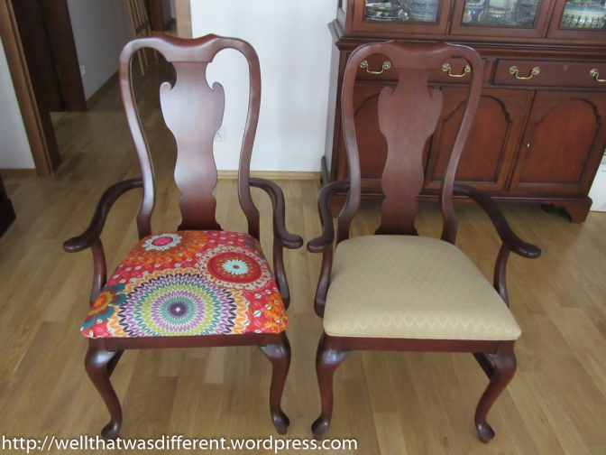 Drexel Chairs: Boring to Boho!