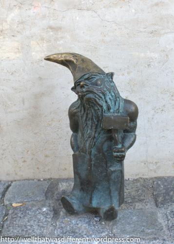 Kowal, the blacksmith with attitude.