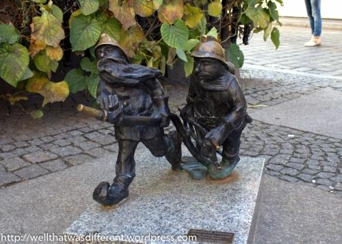 Pożarki or firemen dwarves.