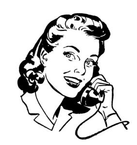 Phone-lady-Retro-Image-Graphics-Fairy1