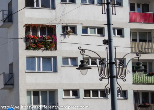 Typical apartment building with one dedicated gardener.